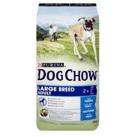 Корм Dog Chow для собак больших пород с индейкой, 14 кг.