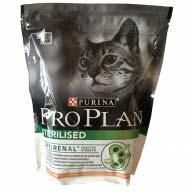 Корм ProPlan Sterilised для кастрированных котов с лососем, 400 г.