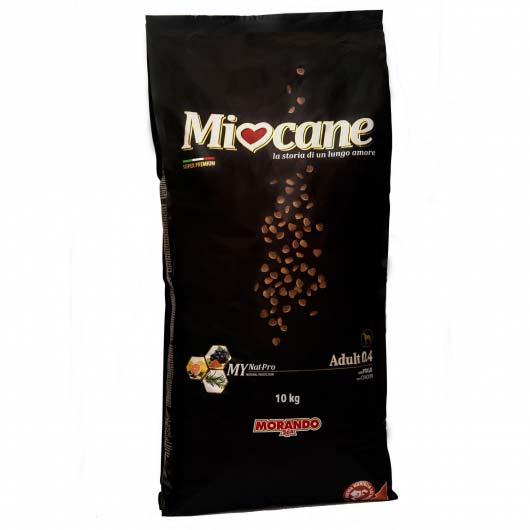 Зображення корму сухого Міокане для дорослих собак в упаковці 10 кг