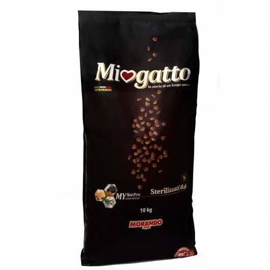 Упаковка корма Miogatto Sterilizzati 0.6, 10 кг
