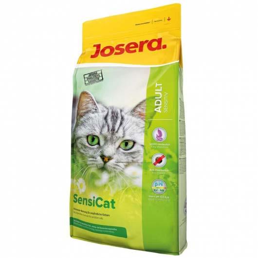Фото корма для котов с чувствительным пищеварением Josera SensiCat