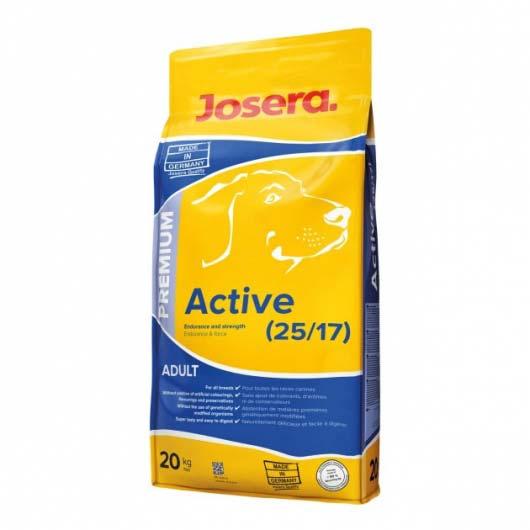 Упаковка корм для собак Josera Active