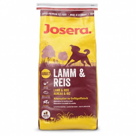 Фото сухого корма для собак с ягненком и рисом Josera Lamb & Rice