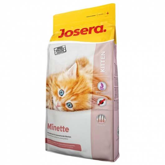 Фото сухого корма для котят Josera Minette