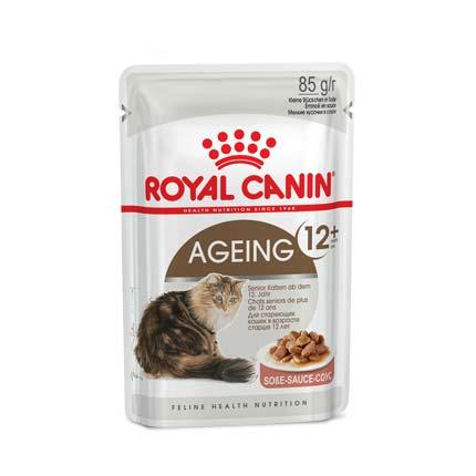 Фото корма для взрослых кошек Royal Canin Ageing 12+ пауч