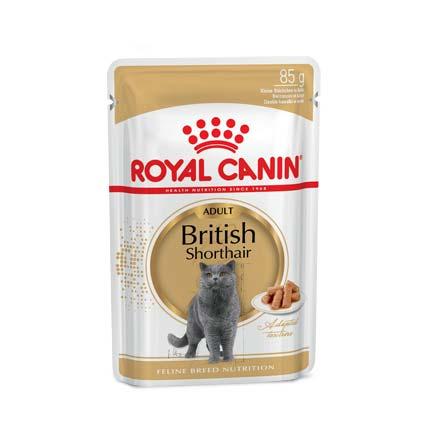 Фото корма Royal Canin British Shorthair Adult, 85 г.