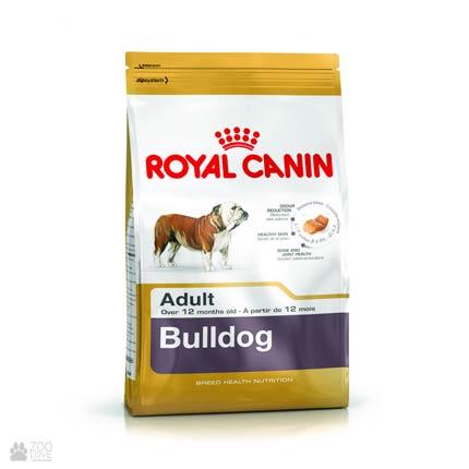 Фото корма Royal Canin для взрослых собак породы Бульдог