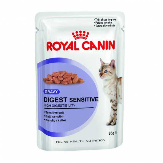 Фото корма для котов с чувствительным пищеварением Royal Canin DIGEST SENSITIVE