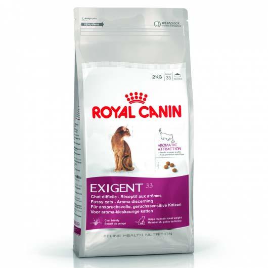 Фото корма для привиредливых к аромату кошек Royal Canin EXIGENT AROMATIC