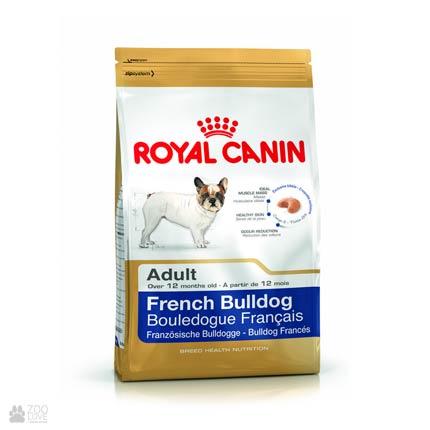 Фото корма для собак Royal Canin для взрослых французских бульдогов