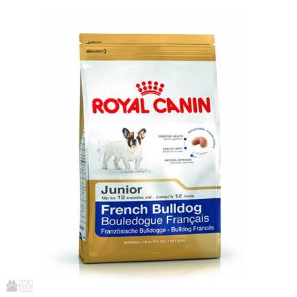 Фото корма для собак Royal Canin для щенков французского бульдога