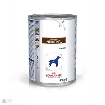 Фото корма-консервы для собак Royal Canin GASTRO-INTESTINAL при нарушении пищеварения
