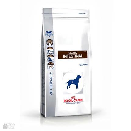 Фото корма для собак Royal Canin GASTRO INTESTINAL при нарушении пищеварения