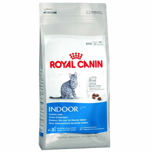 Фото старой упаковки корма Royal Canin INDOOR