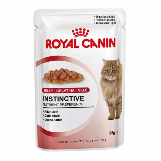 Фото корма для кошек старше 1 года Royal Canin INSTINCTIVE в желе  (дизайн до 2018 года)