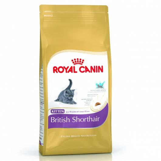 Старая упаковка корма Royal Canin BRITISH SHORTHAIR KITTEN