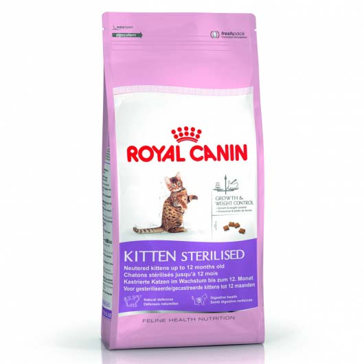 Фото корма для стерилизованных котят Royal Canin KITTEN STERILISED