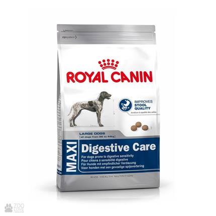 Изображение упаковки сухого корма Royal Canin MAXI DIGESTIVE CARE