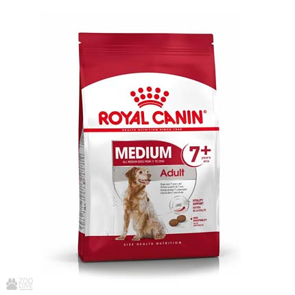 Фото корма для собак Royal Canin MEDIUM ADULT 7+