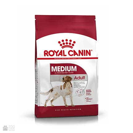 Фото сухого корма для собак средних пород Royal Canin MEDIUM ADULT