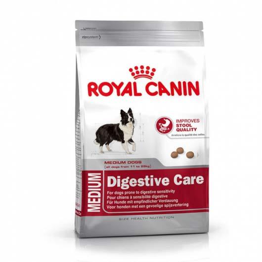 Фото корма для собак с чувствительной пищеварительной системой Royal Canin MEDIUM DIGESTIVE CARE