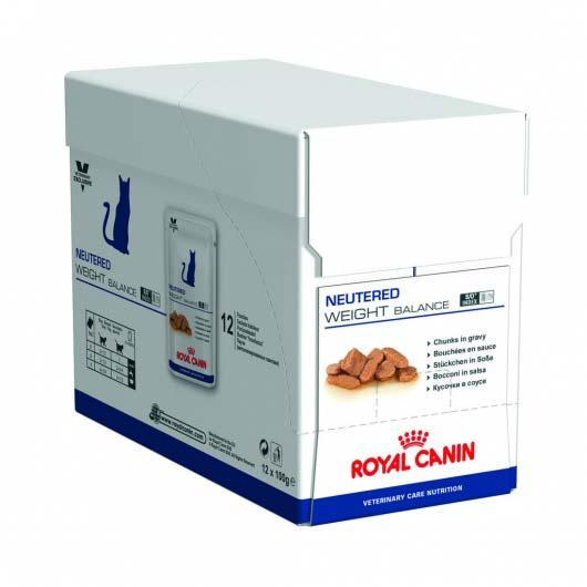 Фото упаковки корма для кошек, склонных к избыточному весу, Royal Canin NEUTERED WEIGHT BALANCE