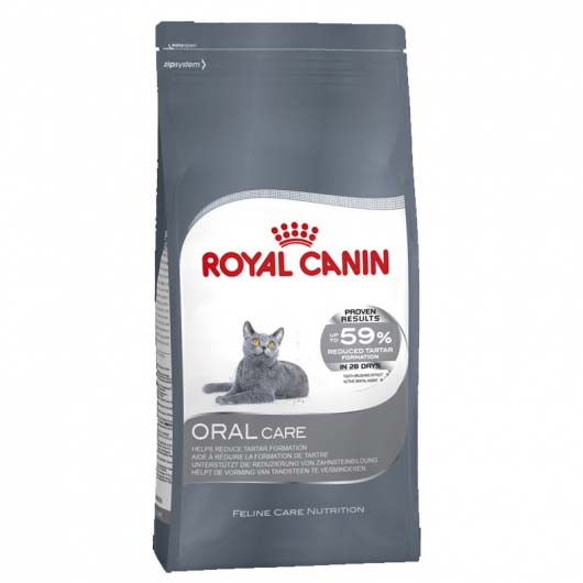 Фото корма для кошек Royal Canin ORAL CARE для профилактики зубного камня  (образец до 2018 года)