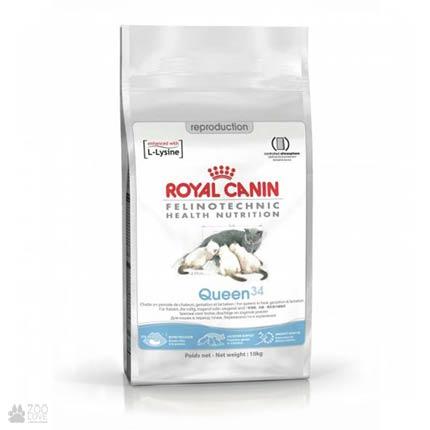 Купить корм для для беременных и кормящих кошек Royal Canin QUEEN