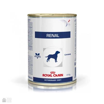 Фото корма влажного для собак Royal Canin RENAL при почечной недостаточности