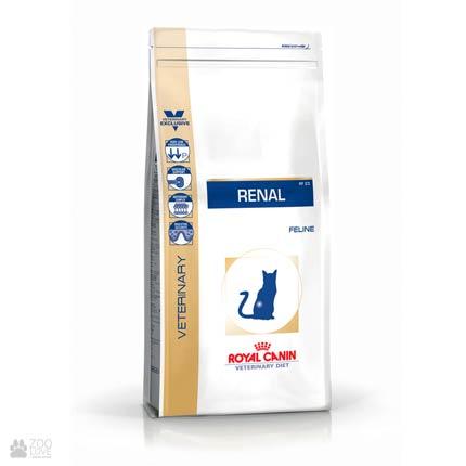Изображение упаковки корма Royal Canin RENAL для кошек