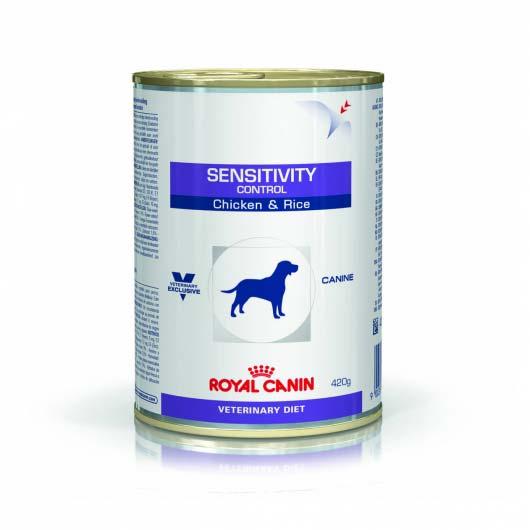Фото корма консервы для собак с чувствительным пищеварением Royal Canin SENSITIVITY CANINE