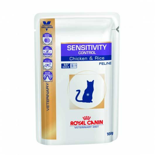 Фото корма для кошек Royal Canin SENSITIVITY CONTROL при пишевой аллергии