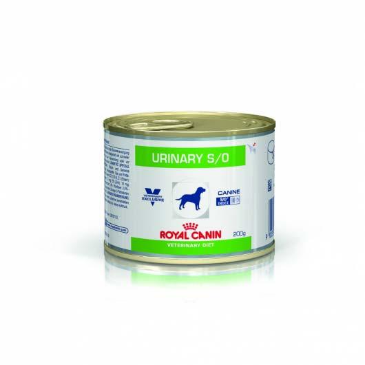 Фото корма консеры для собак Royal Canin URINARY при лечении мочекаменной болезни