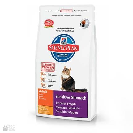 Hills Science Plan Feline Sensitive Stomach (старая упаковка до 2018 года)