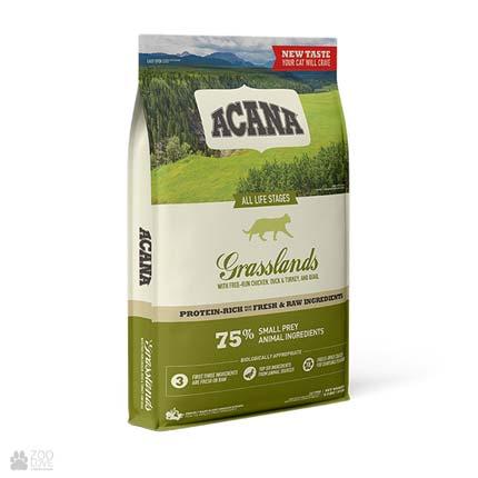Сухой корм для кошек всех пород и возрастов Acana Regionals Grasslands Cat, упаковка с 2021 года