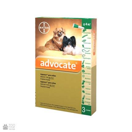 инсектоакарицид, антигельминтик для собак Адвокат