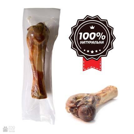 Alpha Spirit Ham Bone Half, косточка-лакомство для собак Половинка