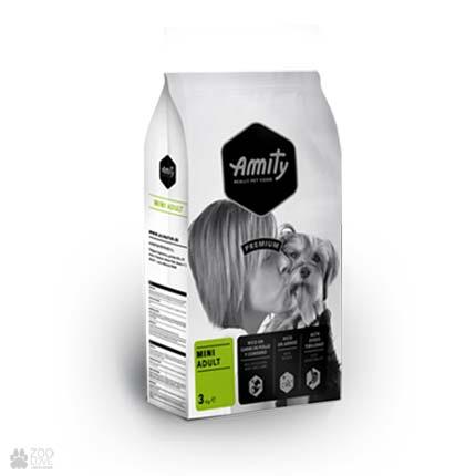 Сухой корм для собак мелких пород Amity Mini Adult