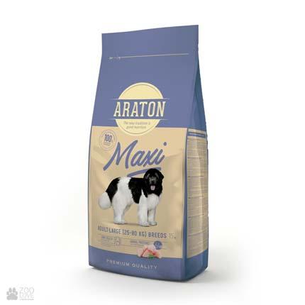 корм для собак крупных пород, с курицей Araton Maxi Adult Large Breeds Chicken