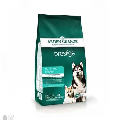 корм для собак с курицей Arden Grange Adult Prestige Dog Fresh Chicken