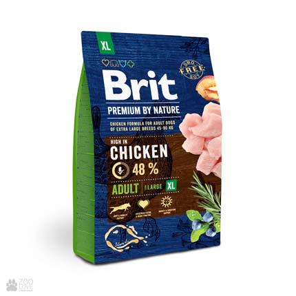 корм для собак гигантских пород Brit Premium Adult XL