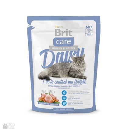 Корм для кошек с избыточным весом Brit Care Daisy I have to control my Weight 400 грамм