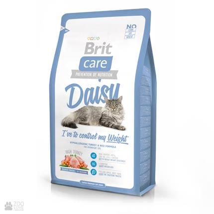 Корм для кошек с избыточным весом Brit Care Daisy I have to control my Weight 2 кг