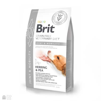 ветеринарная диета для собак с заболеваниями суставов Brit Veterinary Diet Joint & Mobility Grain Free