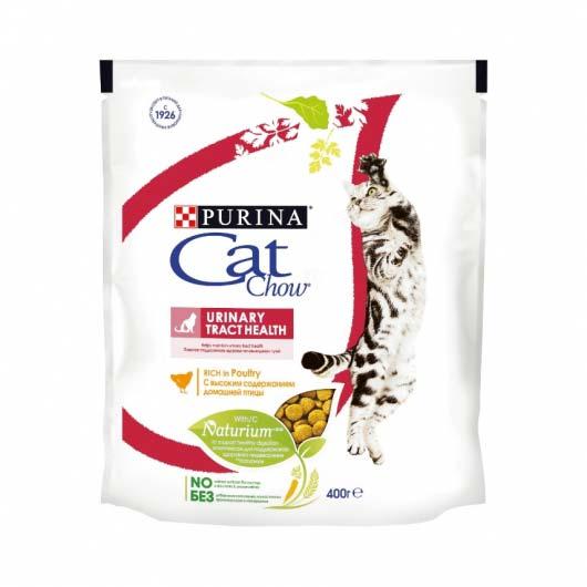 Упаковка корма Cat Chow Urinary Tract Health 400 г