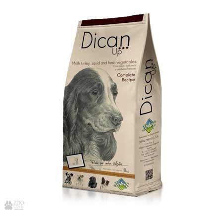 Dican Up Complete Recipe, сухой корм для взрослых собак, 18 кг