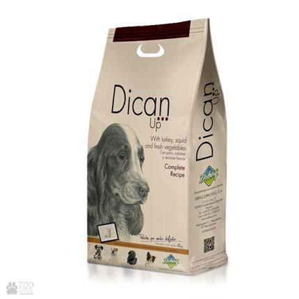 Dican Up Complete Recipe, сухой корм для взрослых собак, 4 кг