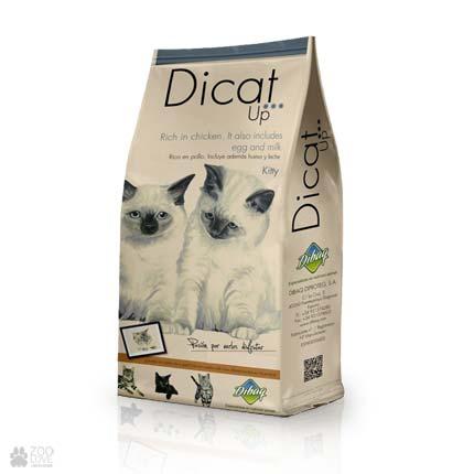 Dicat Up Kitty, сухой корм для котят