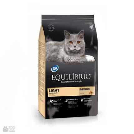 Сухой корм для кошек с избыточным весом Equilibrio Light Cats