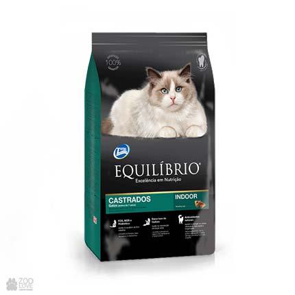 корм для стерилизованных котов старше 7 лет Equilibrio Neutered Mature